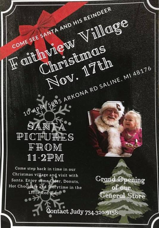Faithview Village Christmas 2018 Invite